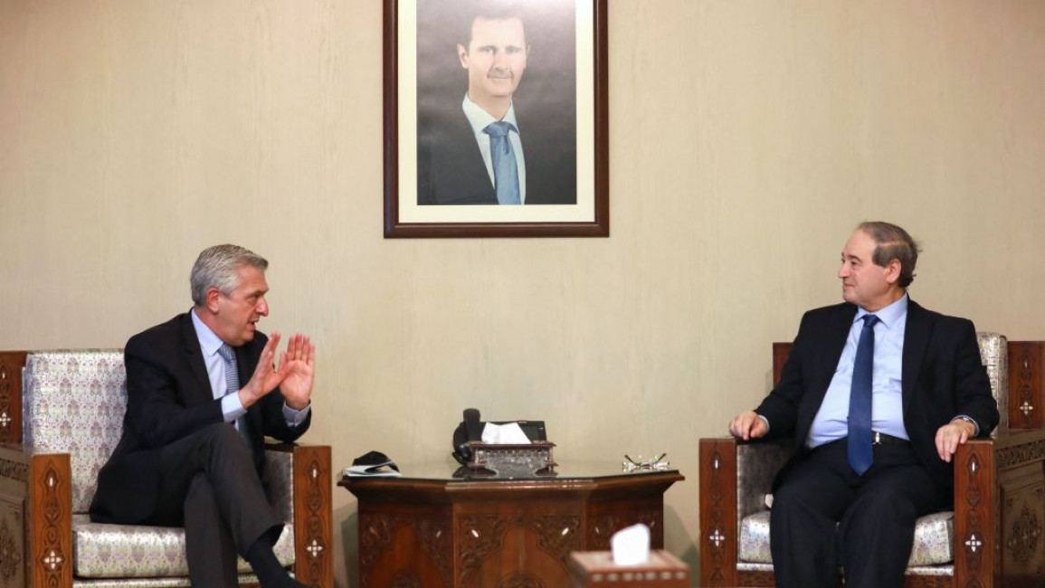 UNHCR Chief Under Fire for Suggesting Syrians Return to Regime Areas