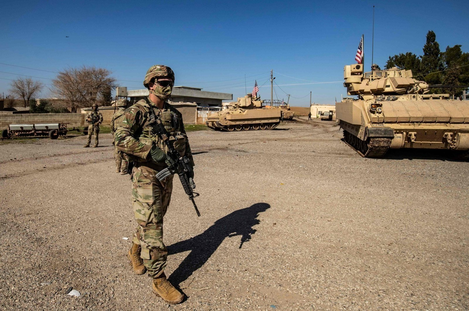 US Equips YPG in Syria with New Armored Vehicles